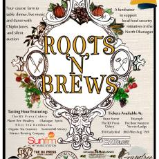roots and brews poster