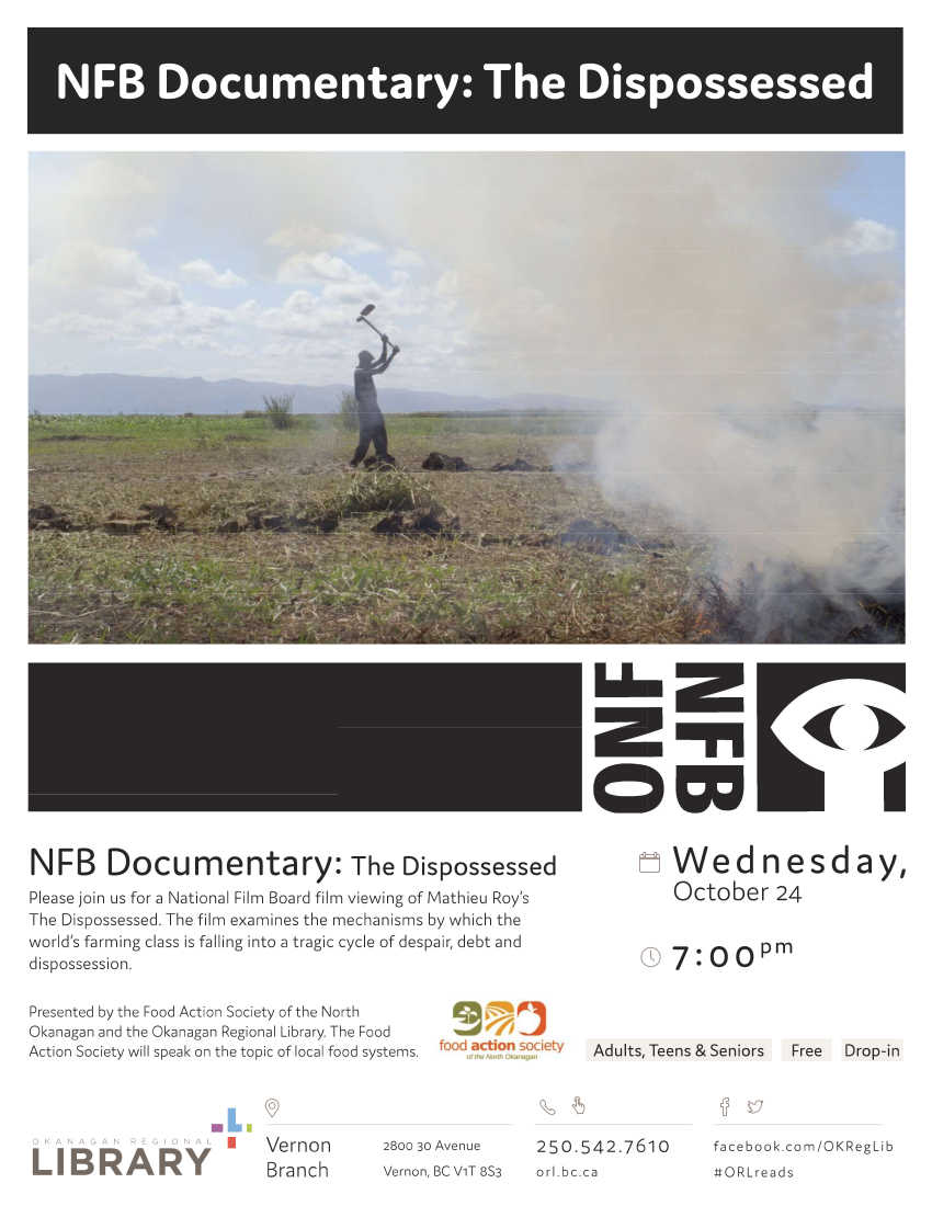 THE DISPOSSESSED Film Screening @ ORL Vernon